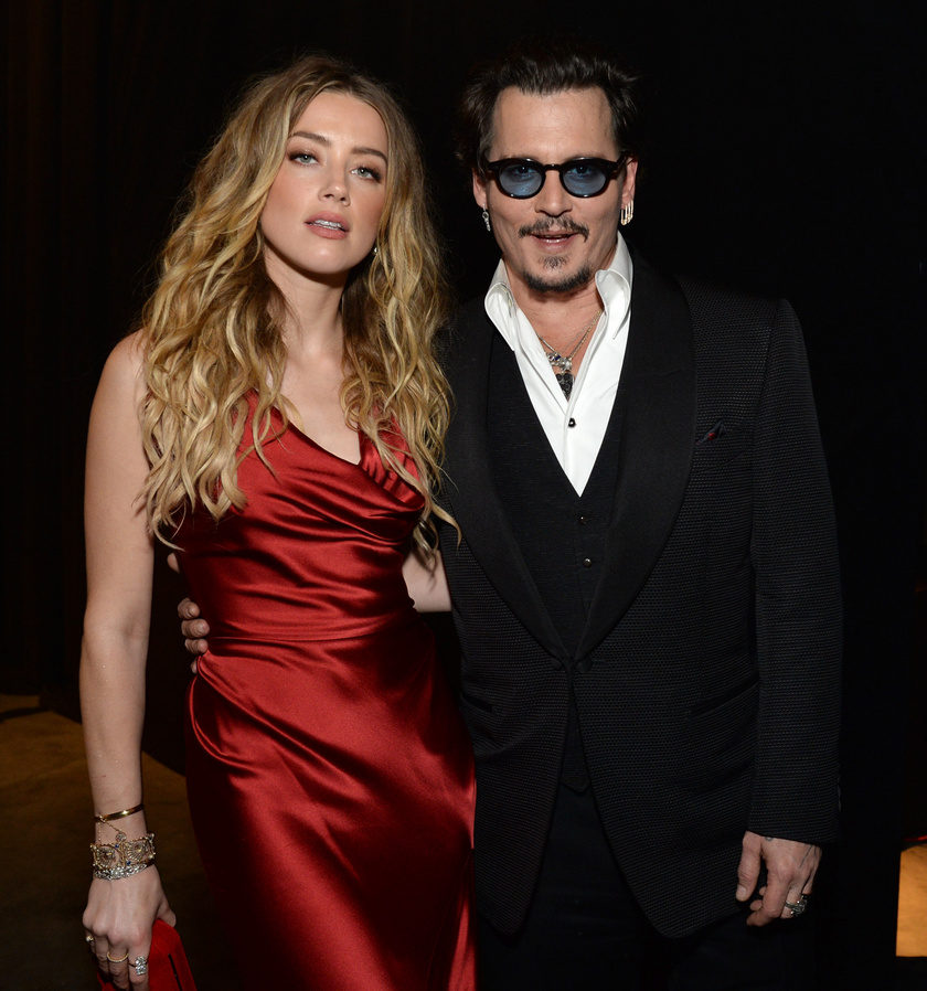 Amber Heard és Johnny Depp 2015-től 2017-ig voltak házasok.