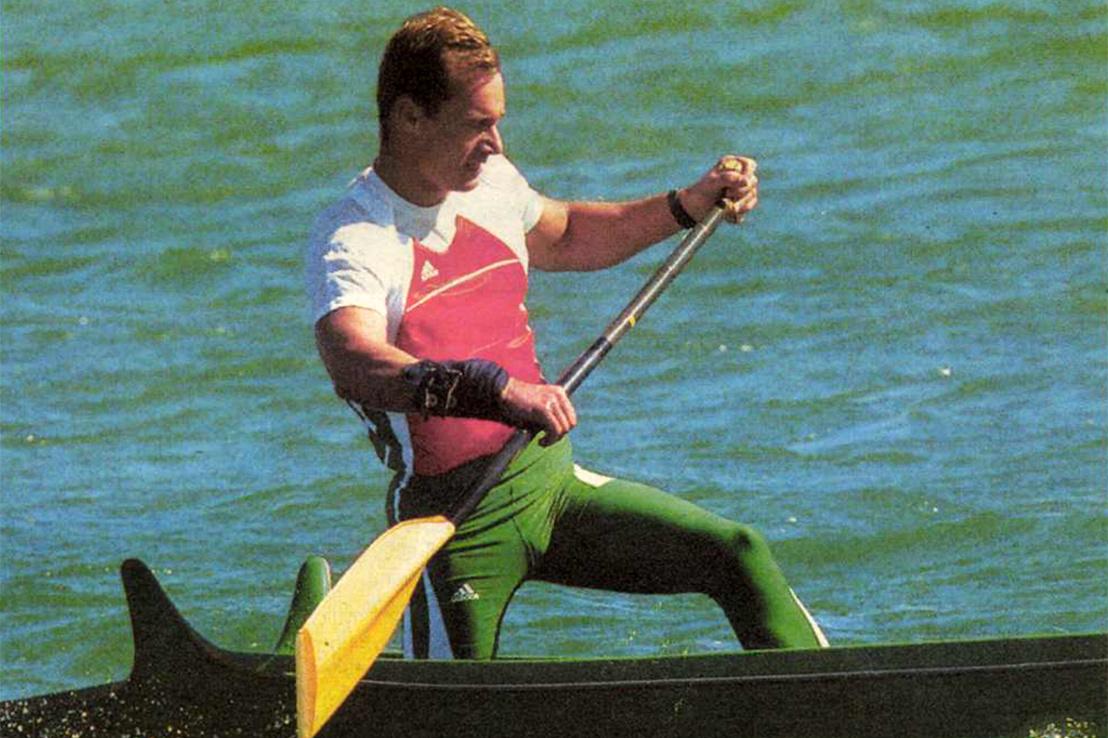 Kolonics Györgynek egyedül is ment. Forrás: A Színes Sport 2000. október / Arcanum adatbázis