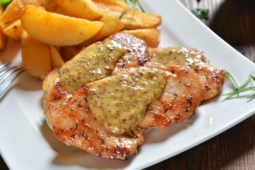 mustáros csirkemell recept