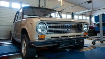 Totalcar Erőmérő: Lada 1200s – 1987.
