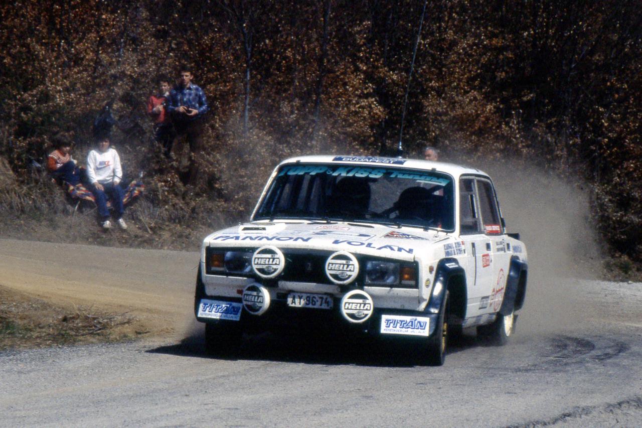 Ranga László a Salgó Ralin. Ranga a másik ladás abszolút bajnok (1987), ő további öt címet szerzett, egyet Audival és négyet Lancia Deltával. A Pécs környéki utakon a végtelenségig gyakorolta Ladájával a tökéletes vezetést - már 19 éve nincs velünk