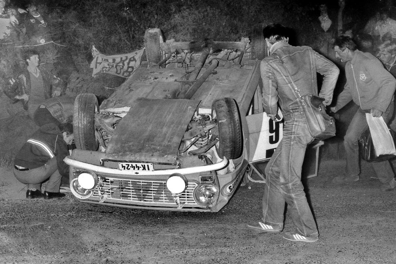 Cigány sokáig versenyzett Ladával, később átült BMW-be, de a stílusa maradt