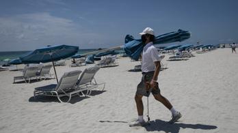 Egy nap alatt közel négyezer új fertőzött Floridában