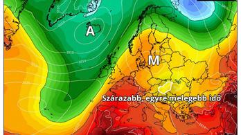 Jövő héten már jobb lesz az időjárás
