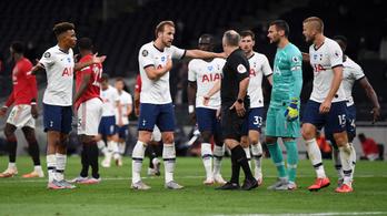 A videóbíró mentette meg a vereségtől a Tottenhamet