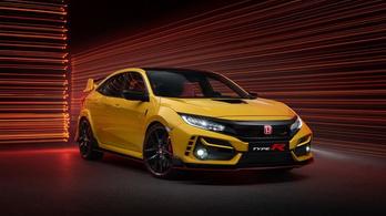 Rekordokra hajt a Honda a legdurvább Civic Type R-rel?