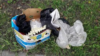 Egy kőbányai képviselő összeszedte az illegális hulladékot, és papírfecnikből megfejtette, ki szemetelt