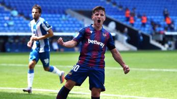 Öt védő közül lőtt gólt az Espanyolnak a korábbi Újpest-játékos