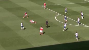 Nem így akarta, de meglőtte az év kötényét az Arsenal spanyolja