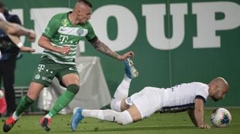 1-0-ra győzött a Ferencváros az Újpest ellen