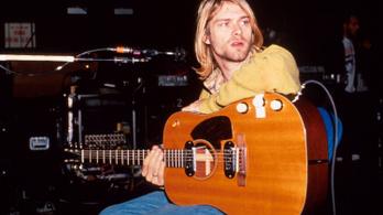 Aukciós rekordot döntött Kurt Cobain gitárja