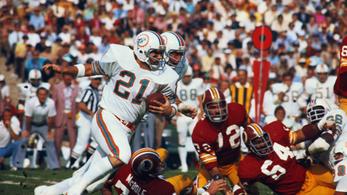 Meghalt a Miami Dolphins legendás támadója