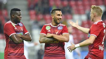 A Debrecen 4-0-s győzelemmel menekül a kiesés elől