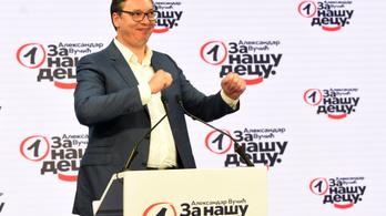 Kétharmados többséget szerezhet Szerbiában Vučić pártja