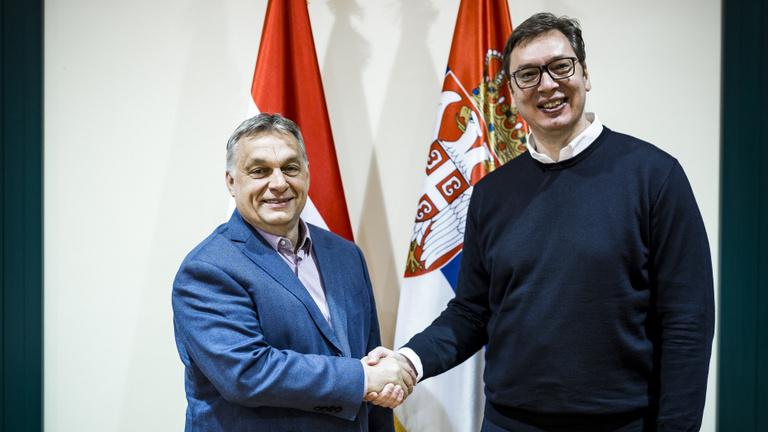 Orbán Viktor gratulált a szerb választási eredményekhez