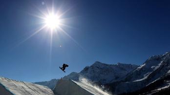 A téli olimpia helyszíneinek fele a felmelegedés miatt mehet a kukába