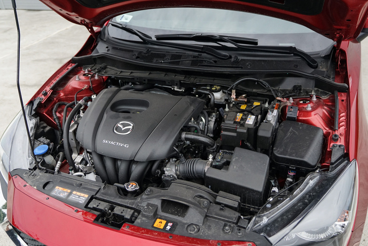 A 90 lóerős G SkyActive motor