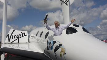 A NASA-nak szervez majd privát űrutakat a Virgin Galactic