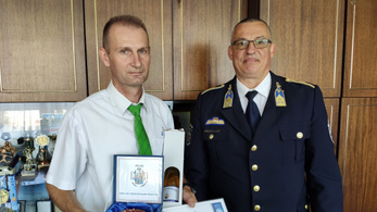Elismerést kapott a miskolci buszsofőr, aki megállított egy rablótámadást