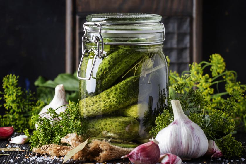 Házi csemege uborka sok kaporral és fokhagymával: így lesz finom ropogós