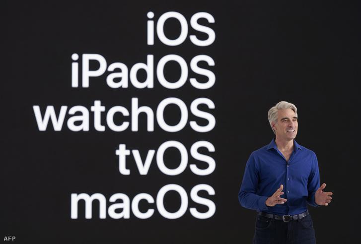 Craig Federighi, az Apple szoftverfejlesztési vezető alelnöke