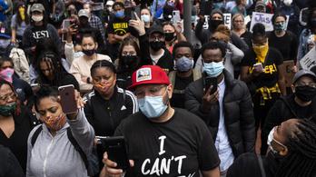 A tüntetések mégsem robbantották be újra a járványt Amerikában