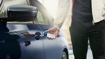 Telefonnal is nyithatók lesznek az autók