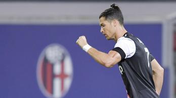 A kupában kihagyott tizenegyes nem bizonytalanította el Cristiano Ronaldót