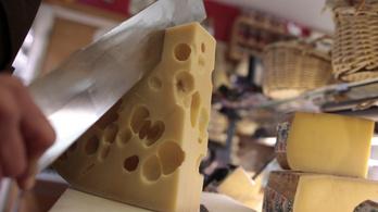 Miért lyukas a sajt?