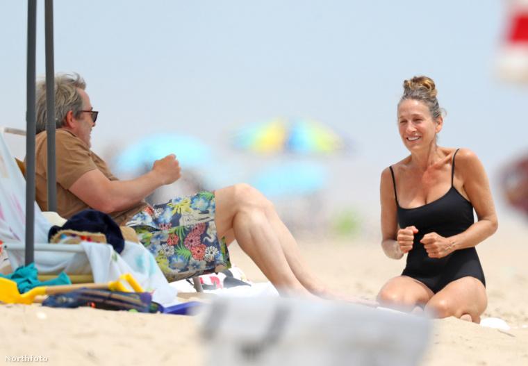 Matthew Broderick be is futott, aztán mesélt egy viccet a feleségének.