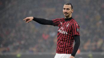 Augusztus végéig marad az AC Milannál Ibrahimovic
