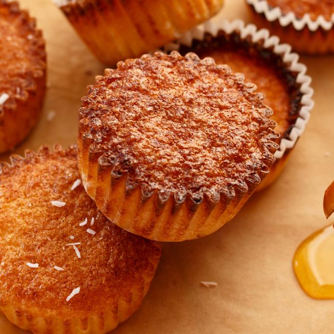 Mézzel gazdagított, puha muffin: csak össze kell keverni a hozzávalókat