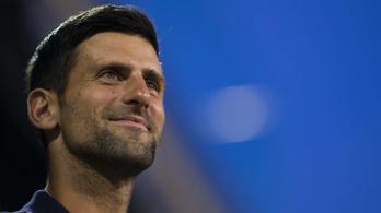 Saját tenisztornáján lett koronavírusos Novak Djokovic