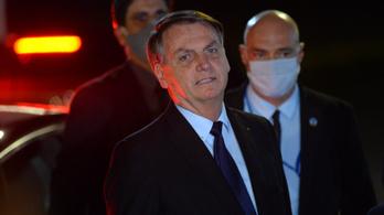 Jair Bolsonarónak mostantól kötelező szájmaszkot hordania