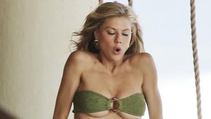 Mintha pár számmal kisebb bikinifelsőt adtak volna Charlotte McKinney-re, nem gondolja?