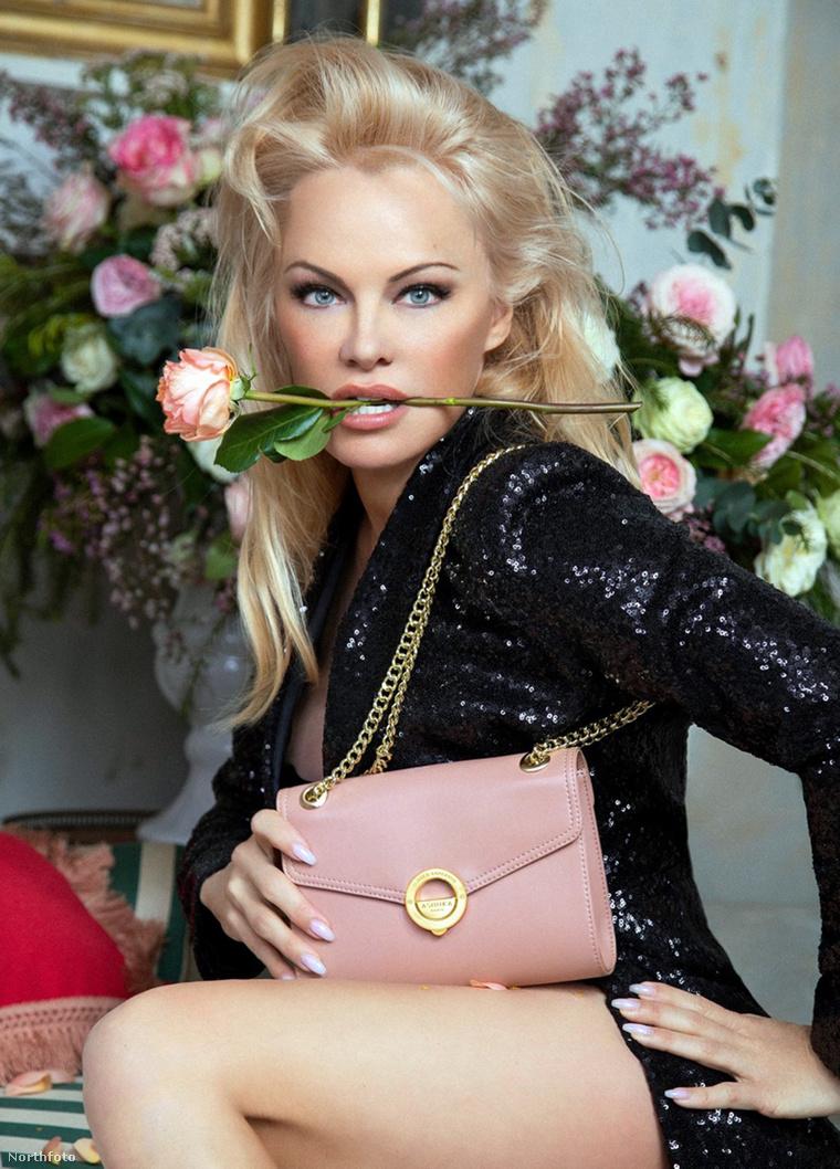 A kevésbé konzervatív Pamela Anderson.