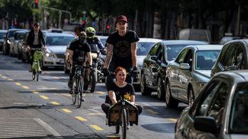 Karácsony Gergely kompromisszumot kötne a nagykörúti kerékpársávokról
