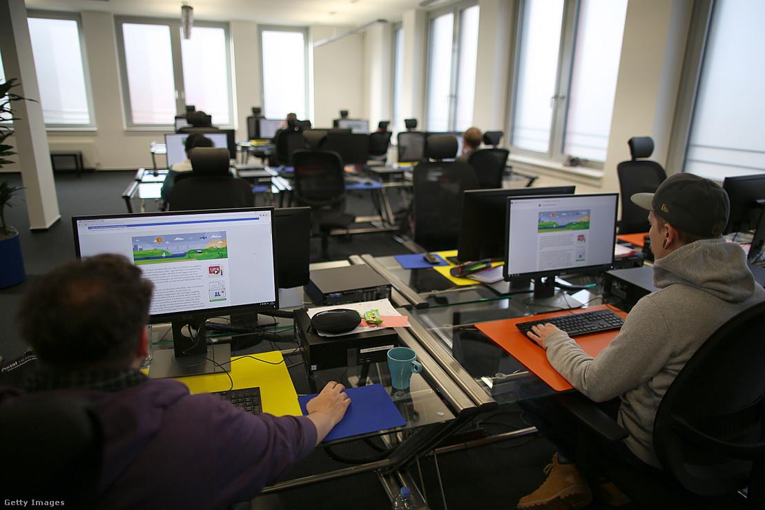 A Facebook Németországban található tartalom moderáló irodája Essen városában.