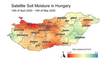 Katasztrofális az európai szárazság az ESA műholdképei szerint