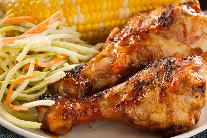 Grillezett BBQ csirkecomb: nagyon szaftos a végeredmény