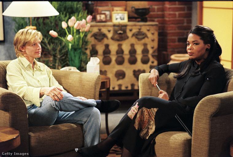 1997-ben volt, hogy Ellen DeGeneres a vígjátéksorozatában és a való életben is elmondta a nagyközönségnek, illetve az azt képviselő Oprah Winfrey-nek, hogy leszbikus