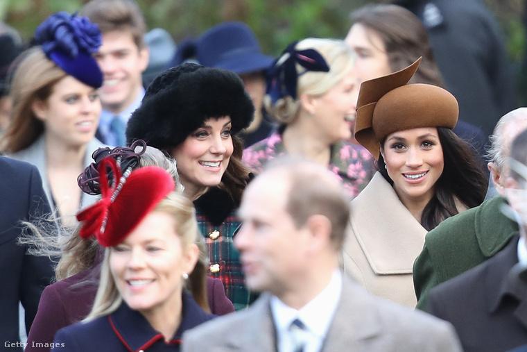 A brit királyi család krónikájának a két legizgalmasabb szereplője az utóbbi évtizedben pedig két másik hercegné volt: Katalin és Meghan