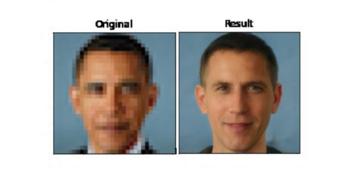 Hogyan lett Barack Obama kék szemű fehér férfi?