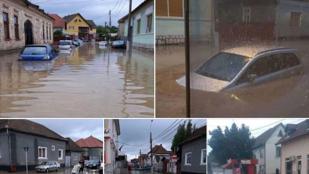 Három ember meghalt a romániai árvizekben, egy négyéves kislány eltűnt