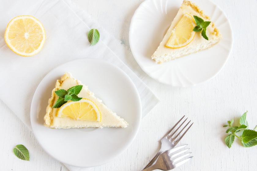 Álomfinom citromos sajttorta egyszerűen: sütni nem, csak hűteni kell