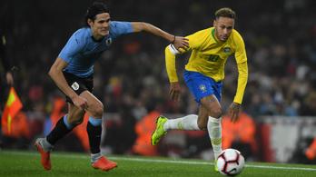Neymar helyett Cavani mehet a Barcelonába