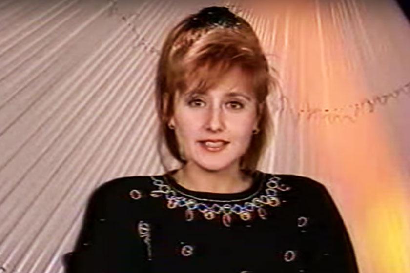 Palcsó Brigitta a Magyar Televízió bemondónője volt - 55 évesen is bájos