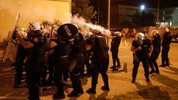 Tüntetések és rendbontások több montenegrói városban