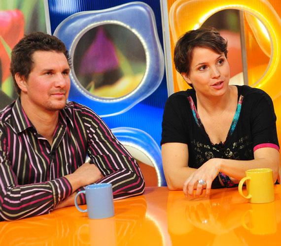 Nagy Ervin és Váczi Rozi a Matyódesignról meséltek a Csak Csajok egyik 2012 októberi adásában.