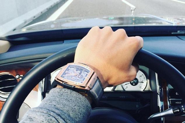 Mauro Icardi Instáján posztolt az órájáról mielőtt kirabolták